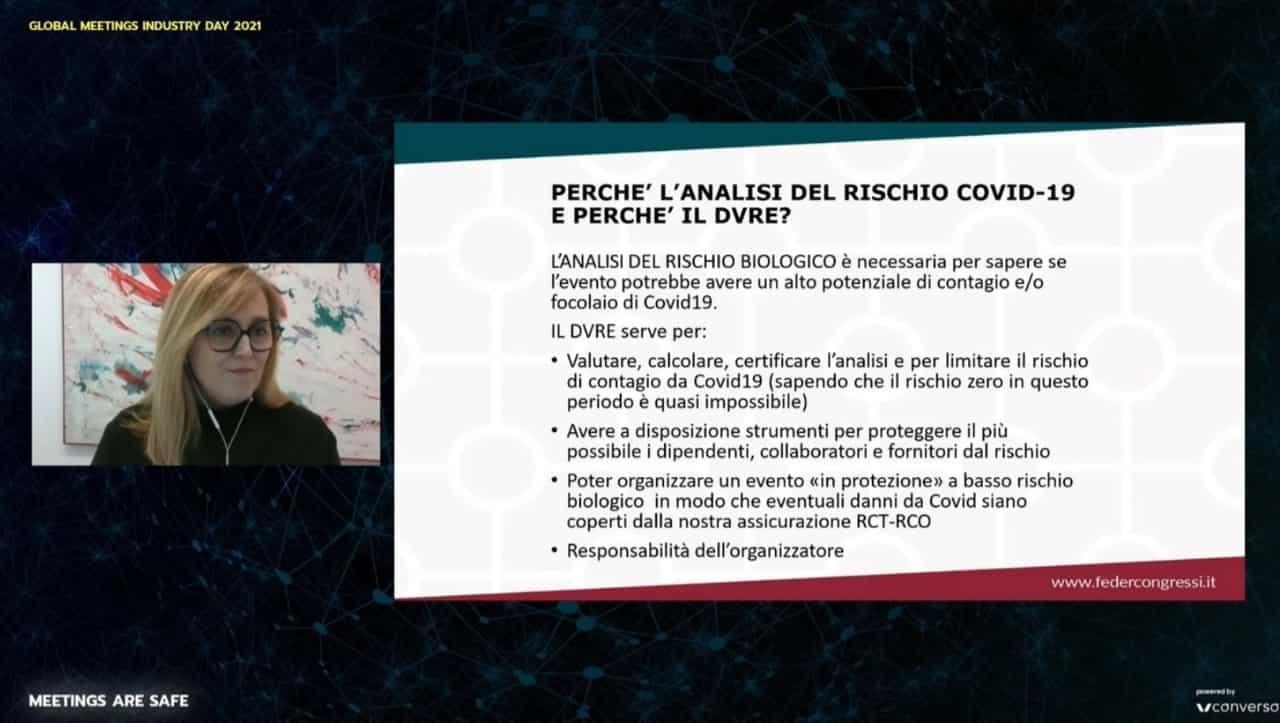 Alessandra Albarelli presenta il Dvre