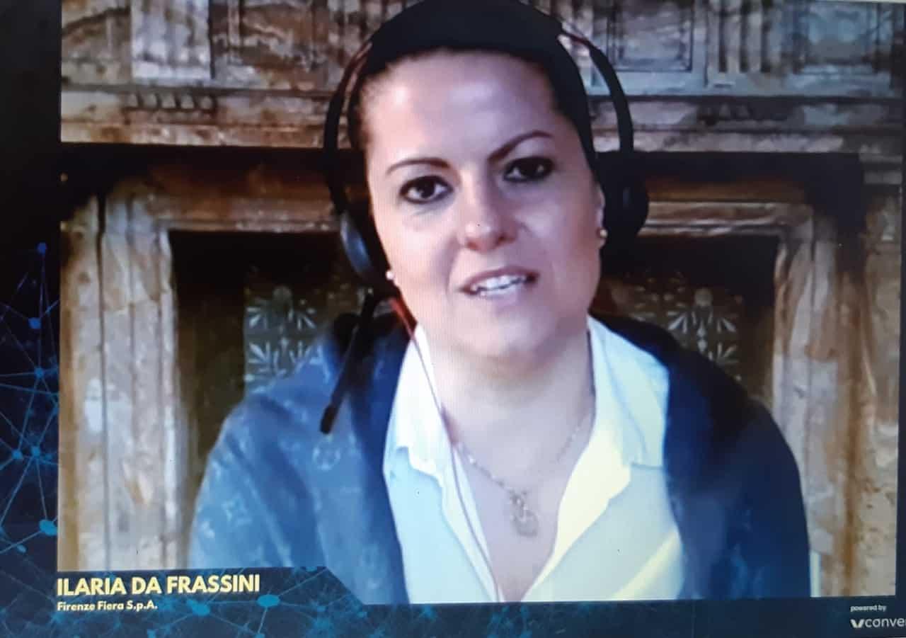 Ilaria Da Frassini, responsabile Congressi di Firenze Fiera