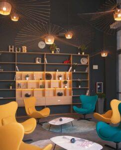 Il foyer di Scalo MIlano Hub