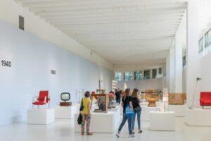 Una sala del Museo del Design Italiano