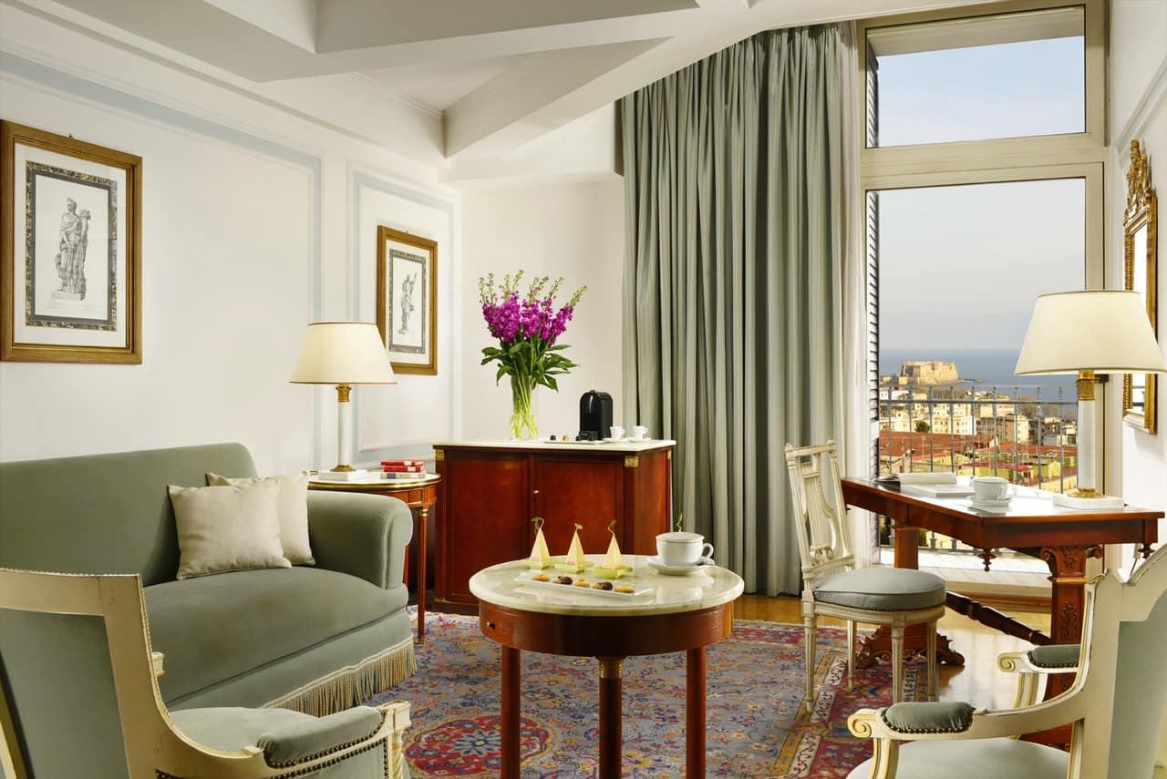 Una suite del Grand Hotel Parker's