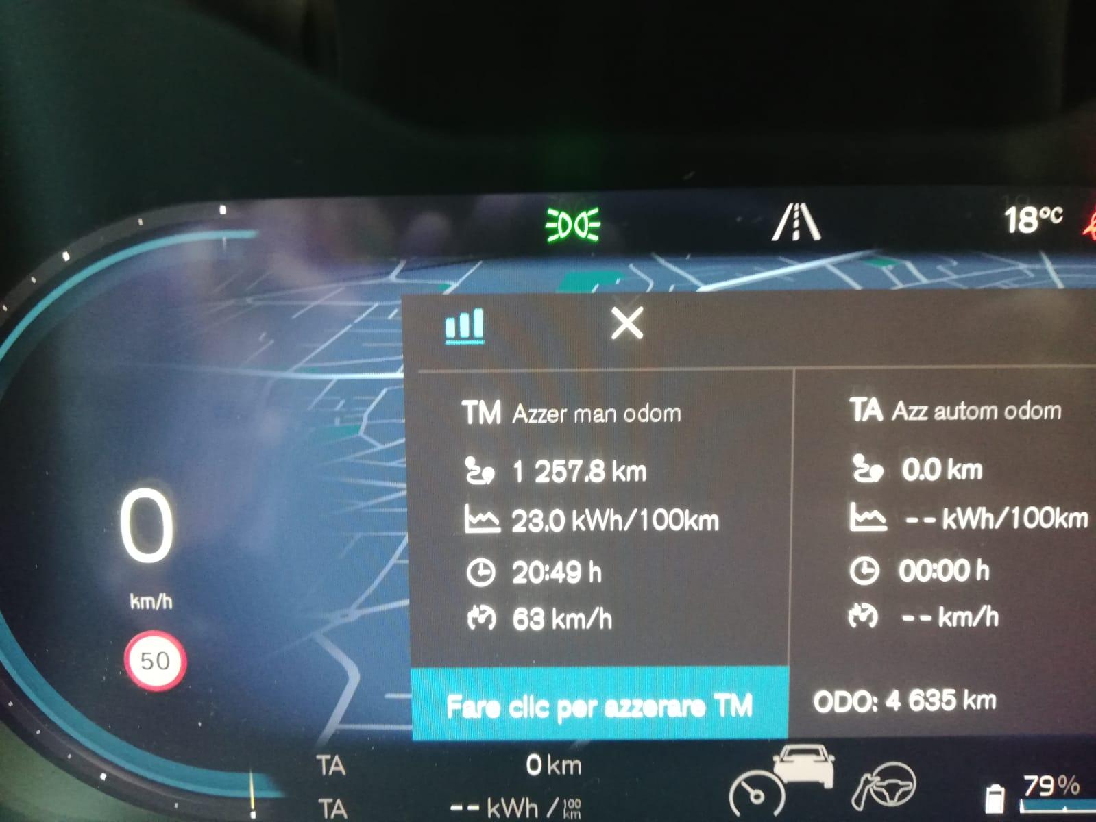 Volvo XC40 elettrica in flotta