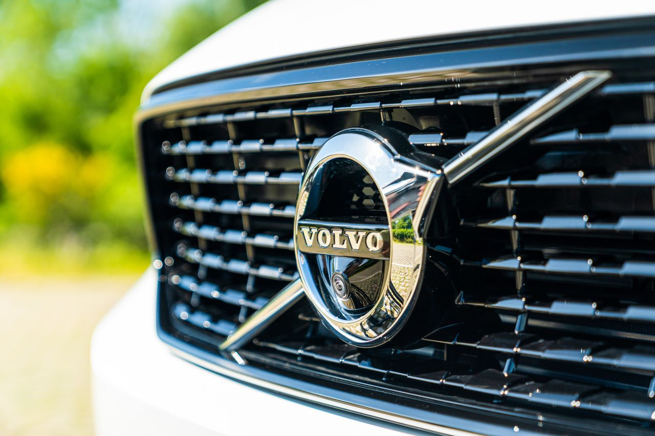 Griglia della Volvo XC40 PHEV