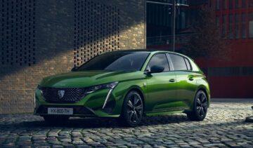 Auto elettriche Peugeot