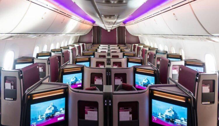 nuovo boeing 787 qatar airways