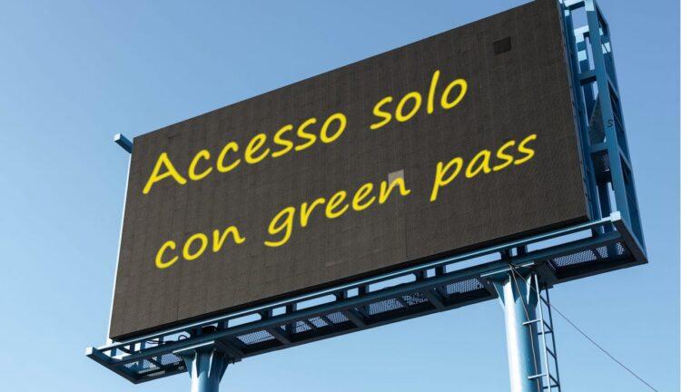 Green pass obbligatorio 1° settembre