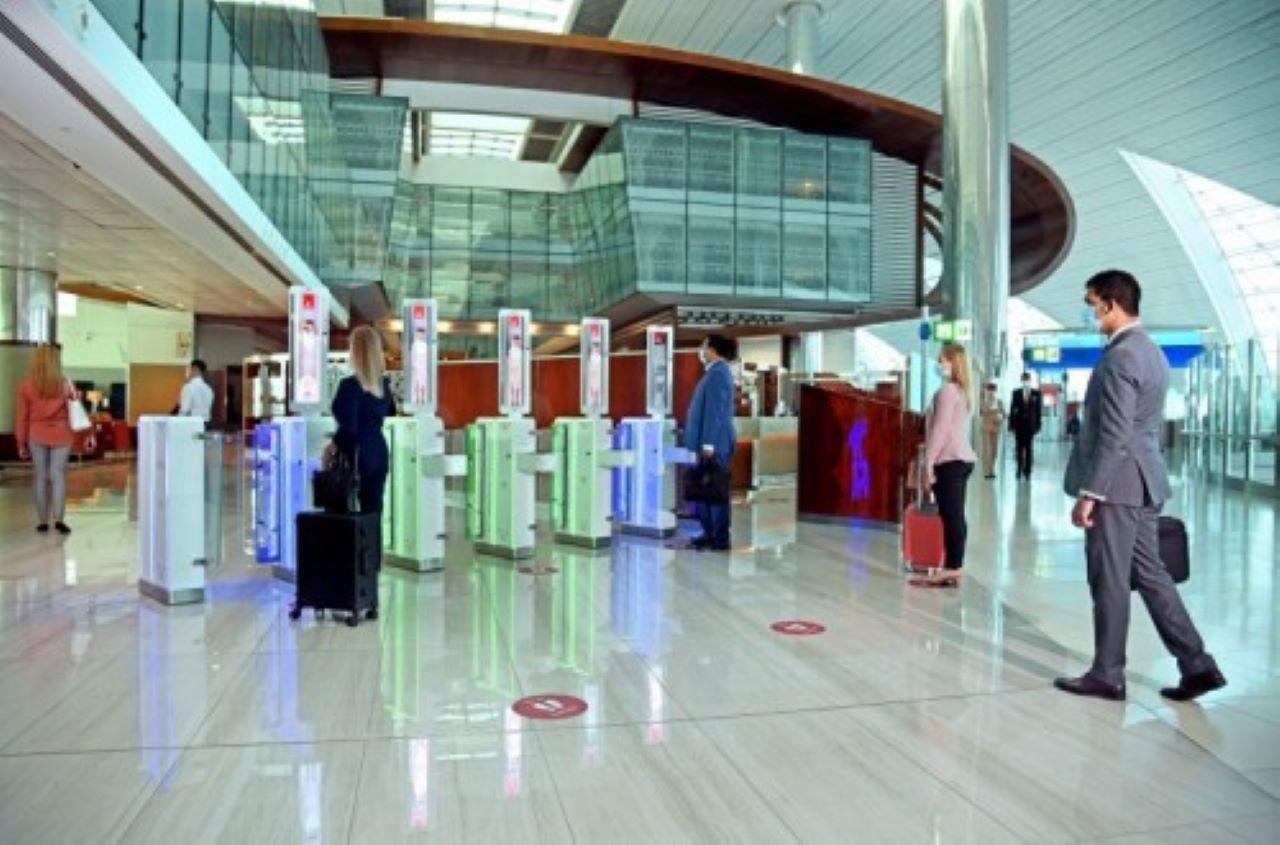 Biometria in aeroporto a Dubai