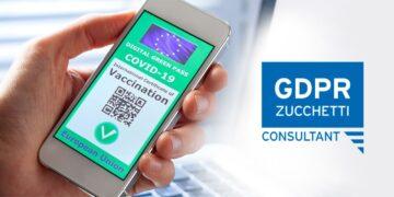 gdpr privacy Green Pass Zucchetti