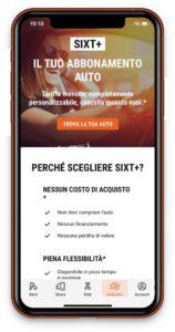 Anche dall'app Sixt si prenota l'abbonamento di NLT